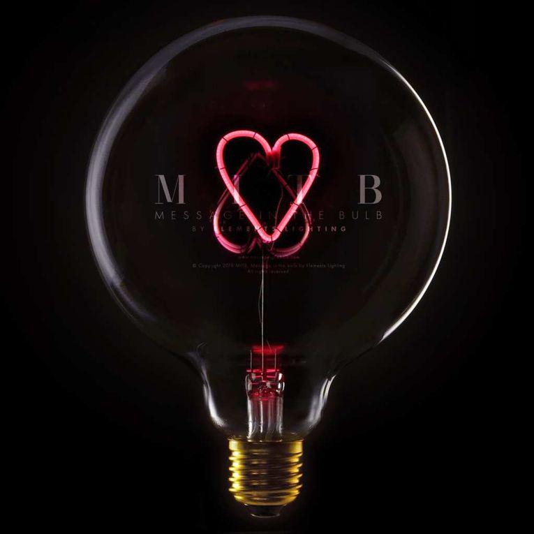"""Extrait de la gamme d'ampoules à message """"Message In The Bulb by Elements Lighting"""" en vente sur Comptoir Elec & Design"""