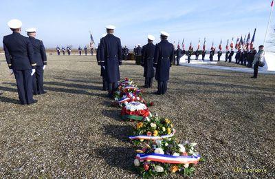 Hommage au Commandant Marin la Meslée 4 février 2019 à Dessenheim