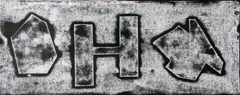 2 monotypes par Myriam Héneau