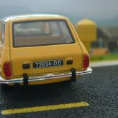 RENAULT 12 BREAK 1971 LA POSTE 1/43 - car-collector.net