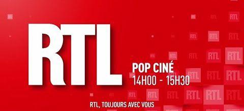RTL POP CINE présenté par Vincent Perrot