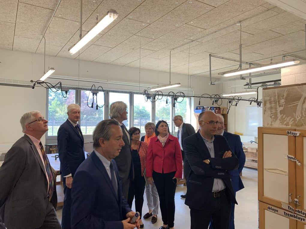 Retour en images sur l'inauguration du Collège Pierre-Gilles de Gennes