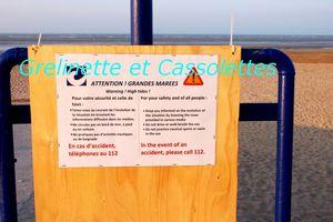La Grande Marée de 2015, Côte Normande