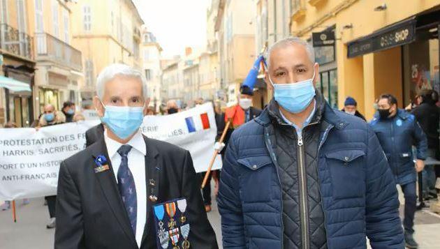 Vidéo-Diaporama de la manifestation du Samedi 06 Février 2021 à Aix en Provence (13) contre le rapport Stora.