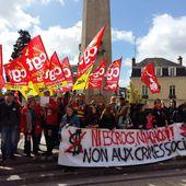 Rassemblement Manif 1er mai 2017 : barrage au FN - Syndicat CGT des Cheminots Actifs et Retraités de la Sarthe