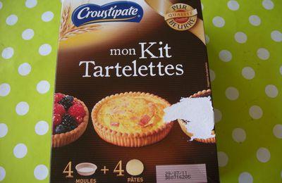 J'ai testé les tartelettes pur beurre de Crousti-pate .