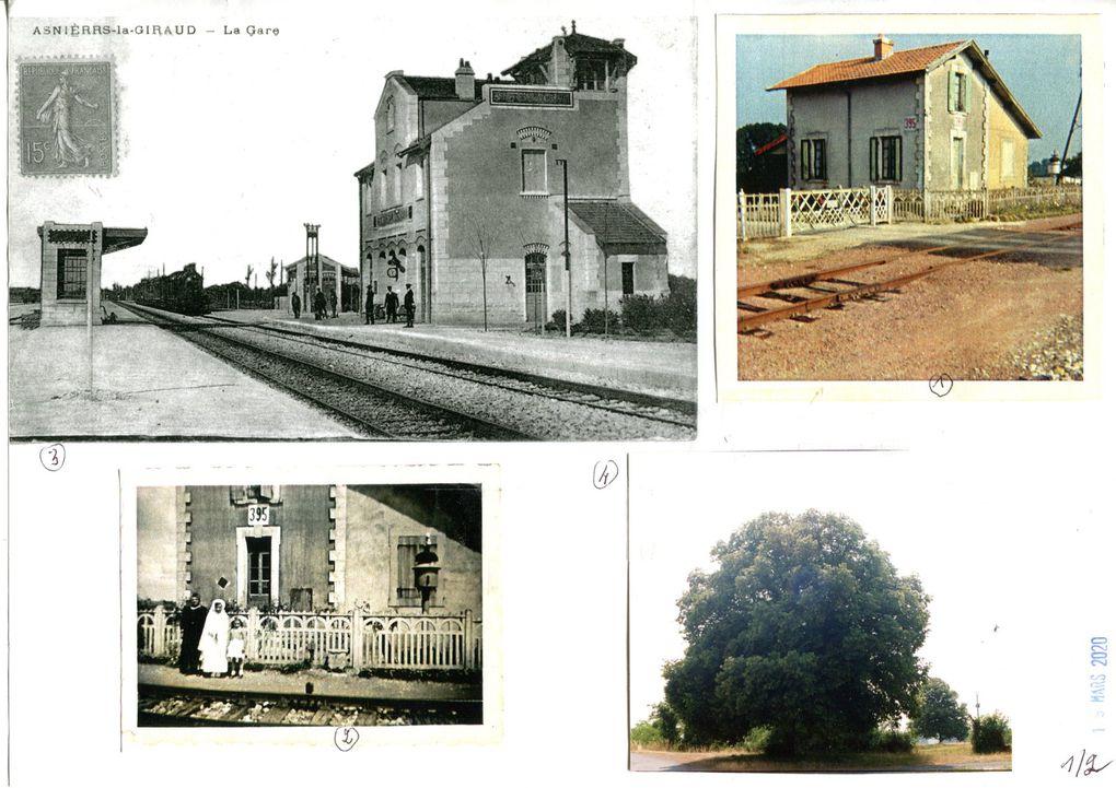 26 -Asnières la Giraud - Attaque aérienne et destruction d'un train - 5 juillet 1944