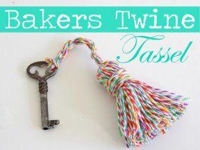 Faites le plein d'idées avec le bakers twine