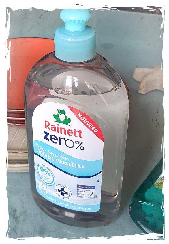 comment nettoyer l'intérieur du pare-brise ? avec le liquide vaisselle Rainett