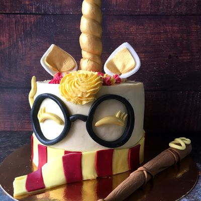 Gâteau Licorne Harry Potter