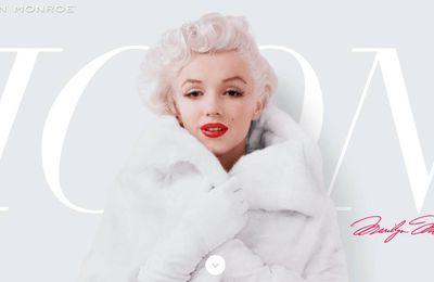 Sites internet consacrés à Marilyn