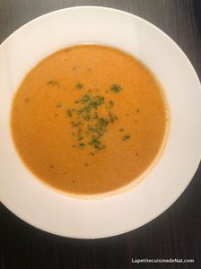 Bisque de homard anti-gaspi