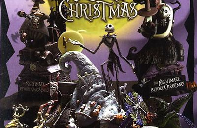 Figurines Formation Arts - Nightmare before Christmas chez Square Enix