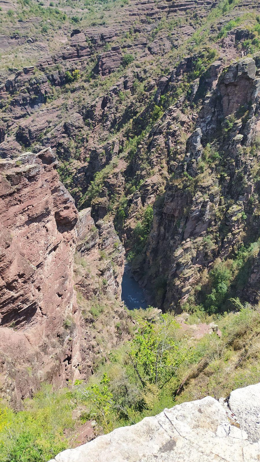 Les gorges de Daluis, le « Colorado Niçois »