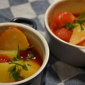 Pommes de terre tomates weight watchers cookeo |