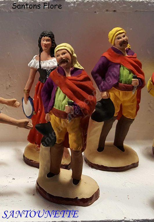 Quand le brigand (ou le bohémien) s'invite dans nos crèches provençales