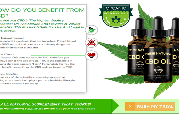 Prime Natural CBD Oil: Reduce Anxiety & Stress Level Quickly?
