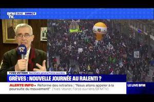 Yves Veyrier, Secrétaire général de FO : « Nous avons fait une démonstration de force dans la détermination, le nombre et le calme »