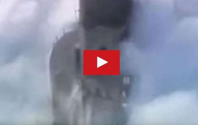 VIDEO - Lighthouses in huge storms, in Brittany