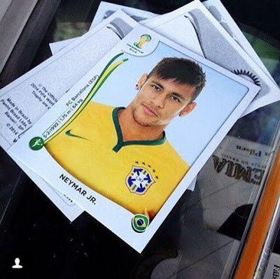 Nueva Camiseta de NEYMAR JR del Brasil Primera 2014 2015