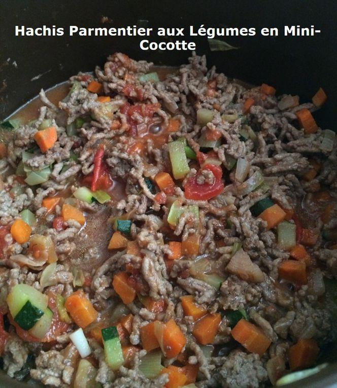 Hachis Parmentier aux Légumes en Mini-Cocotte