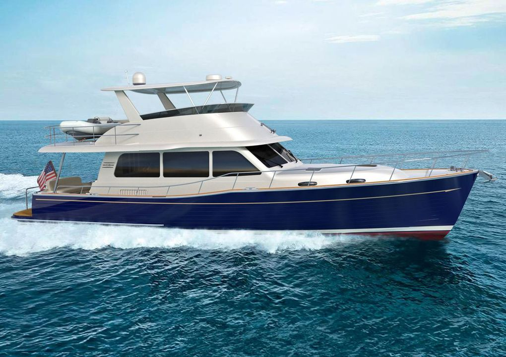 Grand Banks Yachts unveils new GB54