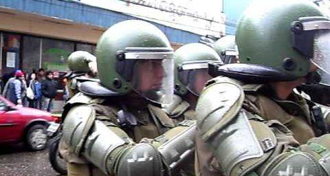 Marcha pacifica de mapuches en osorno reprimidas por fuerzas especiales
