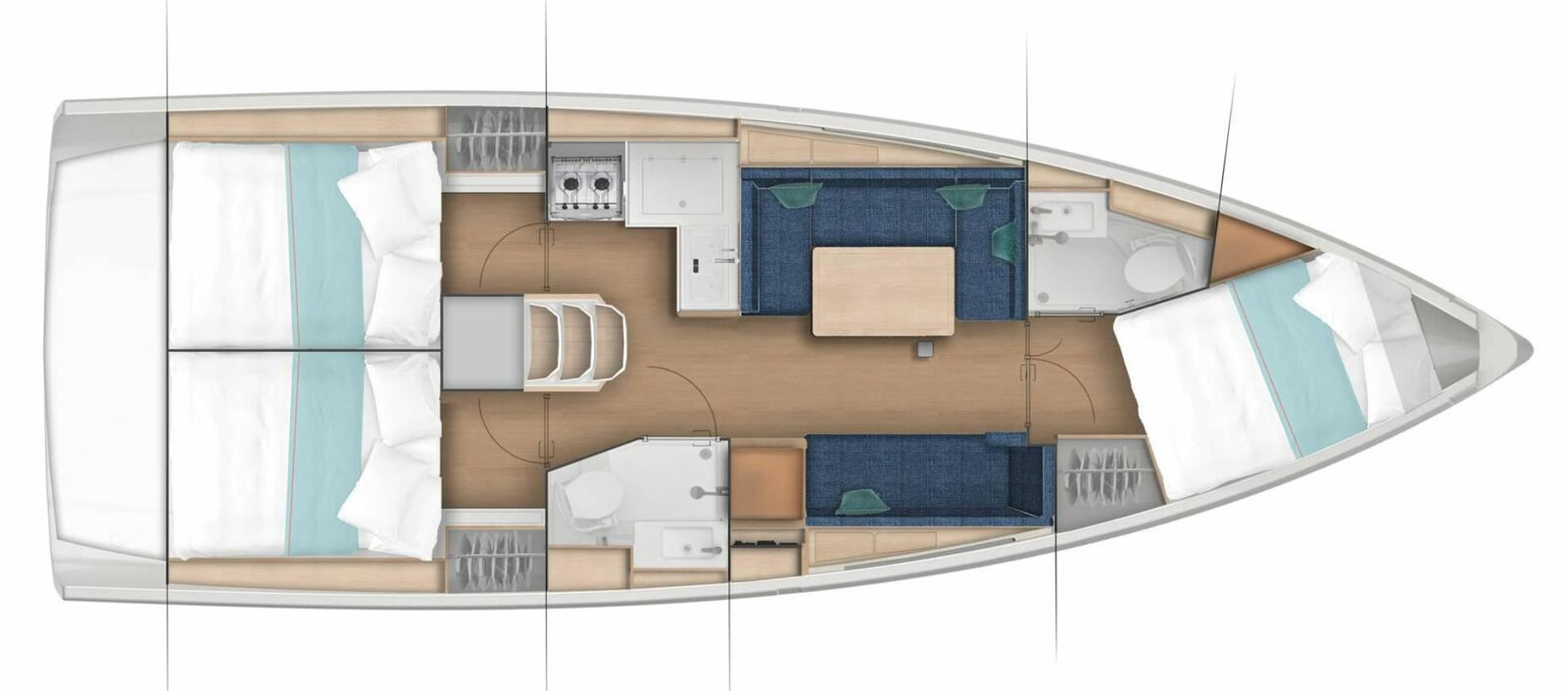 Yachting - Jeanneau lanserar Jeanneau Sun Odyssey 380