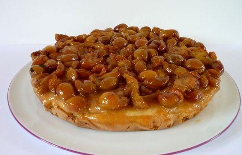 Gâteau aux Mirabelles & Caramel au beurre salé