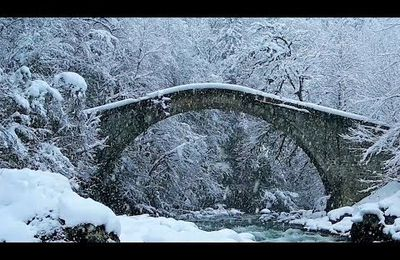 """Peaceful Beautiful Relaxing Music, Meditation Nature Music """"First Snow"""" by Tim Janis"""