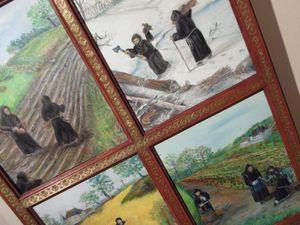 Merci à ce fidèle lecteur qui nous aura permis de vous présenter quelques-unes de ses peintures sous différents angles.