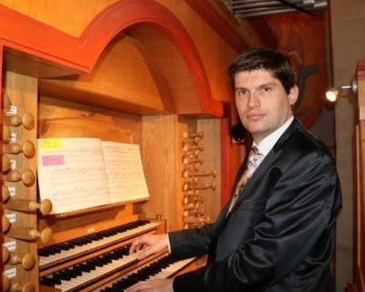 brice montagnoux, un brillant organisge français lauréat du concours international d'orgue xavier darasse de toulouse