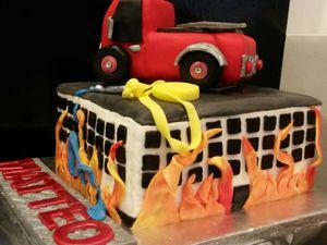 Camion de Pompier - Angel's Kitchen