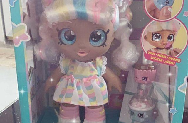 Coup de coeur pour la poupée kindi kids marsha mello de moose toys.