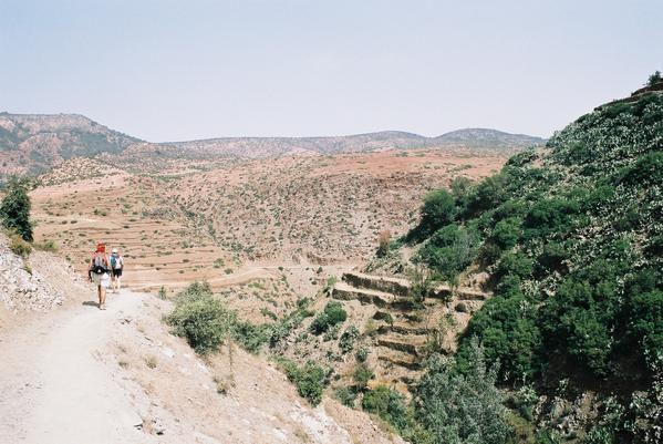 Les magnifiques paysages du trekking, les repas, le thé, les siestes, l'évolution de notre randonnée !