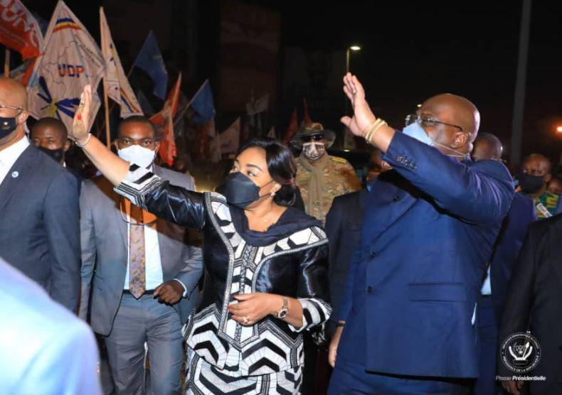 Le Président Félix Tshisekedi à Goma