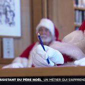 Père Noël, un métier qui s'apprend en Angleterre - Le Journal du week-end   TF1