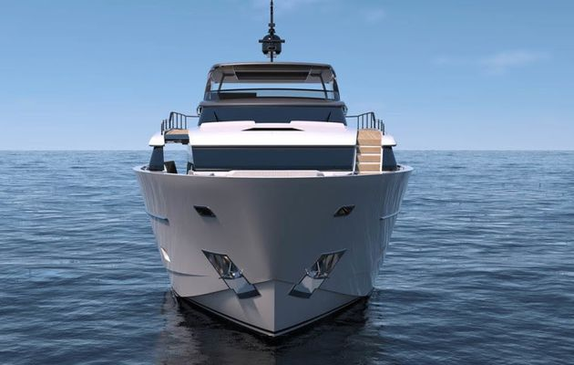 Sanlorenzo SL102 Asymmetric to Premiere in Cannes, sold in Asia by Simpson Marine