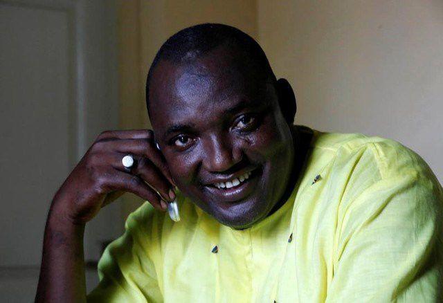 Adama Barrow, ganador de las últimas elecciones en Gambia.- El Muni.