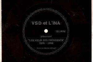 """VSD et L'INA présentent """"Les voeux des présidents""""1936-1989  (présentation de Michel Hélias)"""