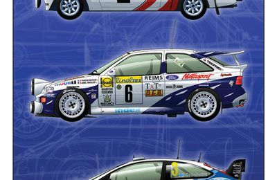 Ford Rallycars