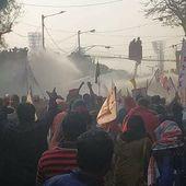 Le mouvement étudiant se mobilise en Inde-Repression - Histoire et société