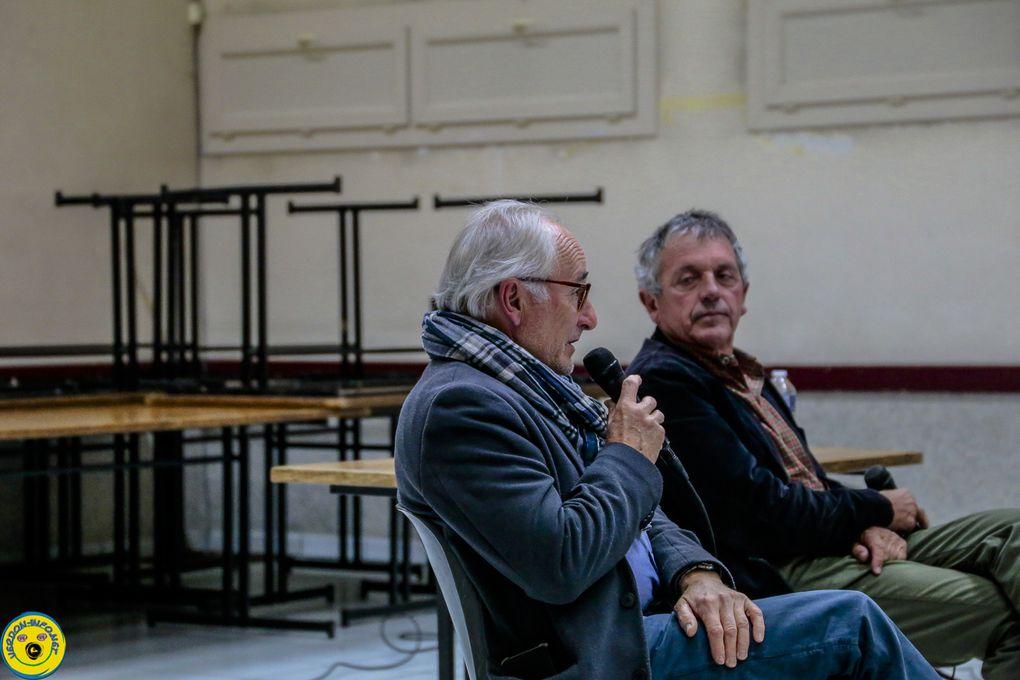 St André les Alpes conférence débat sur l'eau , le réchauffement climatique ...