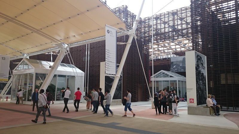 Visite de l'Exposition Universelle de Milan 2015