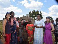 Visite de la Princesse Sarah Zeid de Jordanie au Burundi