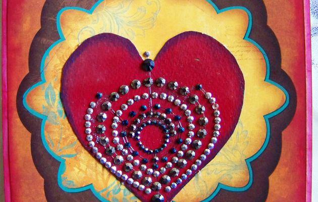 Challenge carterie: Noël ou le coeur est le moteur de la vie !