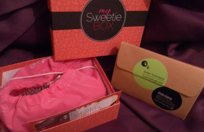 So christmas : La sweetie box de décembre (spoiler)