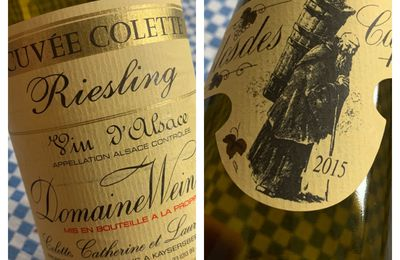 Alsace riesling cuvée Colette 2015 Domaine Weinbach