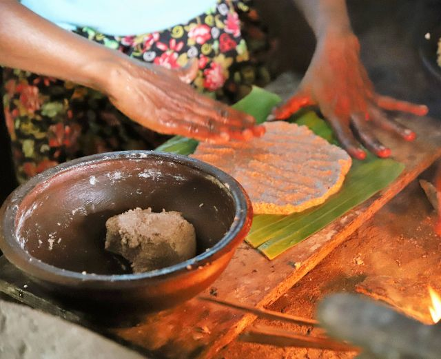 Pol Sambol spécialité culinaire du Sri Lanka