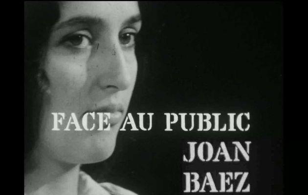 """""""Face au public"""" de Joan Baez, le mercredi 22 août à 20h40 sur TV melody"""